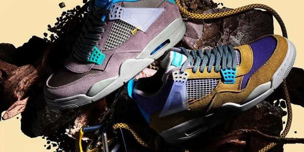 "Union x Air Jordan 4 ""Desert Moss"" DJ5718-300/Union x Air Jordan 4 ""Taupe Haze"" DJ5718-242 Hot sell on line!"