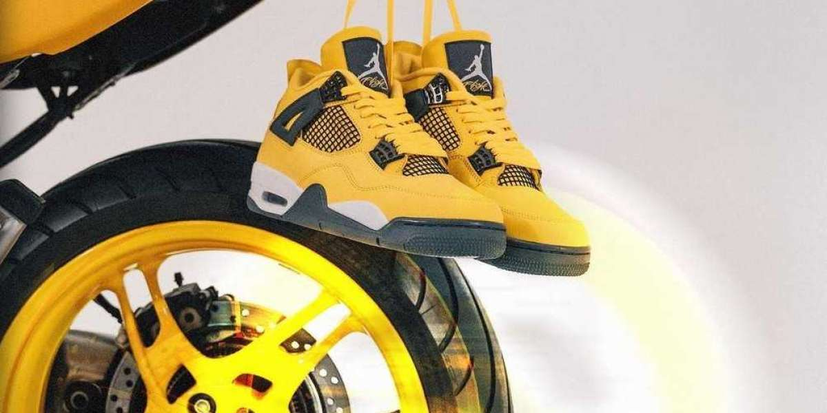 "Latest 2021 Air Jordan 4 Retro ""Lightning"" Basketball Shoes CT8527-700 Cheap For Sale"