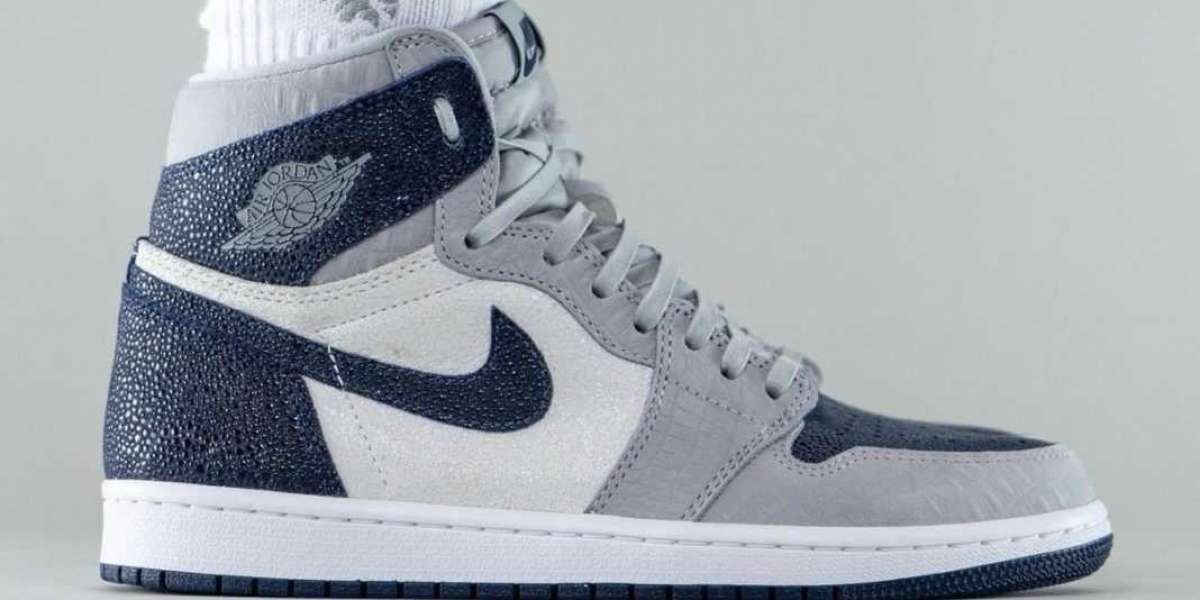 "MNJDLS-203 Nike Air Jordan 1 High OG PE ""Georgetown"" Basketball Shoes"